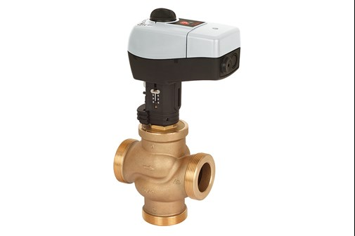 Motorized control valves and actuators | Danfoss on